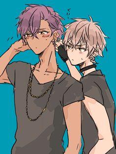 Hot Anime Boy, Anime Guys, Star Character, Character Design, Wild Wolf, Rap Battle, Ensemble Stars, Art Reference, Handsome