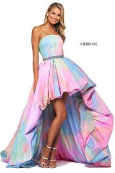 Colorful Prom Dresses, High Low Prom Dresses, Sherri Hill Prom Dresses, Prom Dress Stores, Homecoming Dresses, Pretty Dresses, Beautiful Dresses, Quinceanera Dresses, Long Dresses