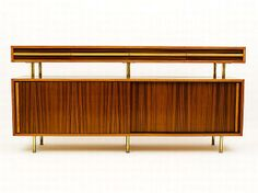 Artes Studio, sideboard, c1960, solid coachwood and Queensland…