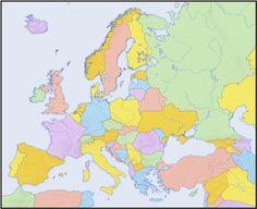 Huvudstäder i Europa1 -beställning
