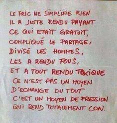 8 belles images de citation argent | French quotes, Funny qoutes