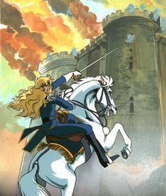 Linda's Cel Gallery - Versailles no bara Anime Figures, Anime Characters, Oscar Cartoon, Les Quatre Cavaliers, Lady Oscar, Manga Anime, Anime Art, The Vampire Chronicles, Anime Was A Mistake