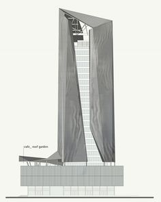 Architectural Drawing Patterns petra architects_ - Image 1 of 9 from gallery of Piraeus Tower competition proposal / Petra Architects and Papaioannou Associates. Architecture Concept Drawings, Architecture Building Design, Education Architecture, Facade Design, Futuristic Architecture, Architectural Drawings, Classical Architecture, Tower Building, High Rise Building