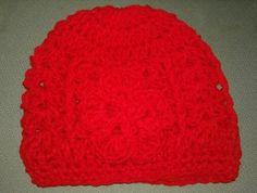 Gorto rojo con flor