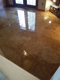 You might want to rethink your living room floor when you see what this woman did!