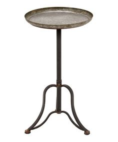 Take a look at this Vintage Stand Accent Table by UMA Enterprises on #zulily today!