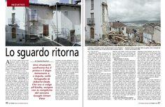 Uno straziante confronto fra il prima e il dopo terremoto a L'Aquila, nelle fotografie di Alberto Dedè. Che ora si volge all'Emilia, sempre con la complicità del servizio Google Street View