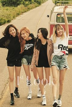 BLACKPINK for 1st Look