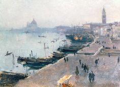 John Singer Sargent - Venice in Grey Weather
