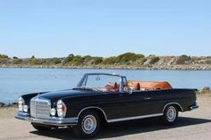 My Doctor Watson drives a 1970 Mercedes Benz 280 SE Cabriolet.