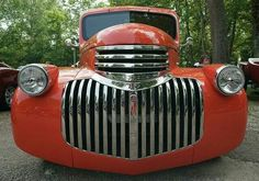 1941 Chevy pickup grill by Murduck 1946 Chevy Truck, Chevrolet Trucks, Cool Trucks, Chevy Trucks, Pickup Trucks, Classic Trucks, Classic Cars, Art Deco Car, Chevy Pickups