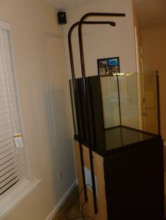 how to mount led light above aquarium - Google Search