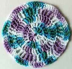 Crochet Round, Easy Crochet, Free Crochet, Knit Crochet, Ravelry Crochet, Irish Crochet, Crochet Humor, Crochet Mandala, Crochet Motif