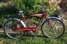 2009 New Belgium Fat Tire beer Bike Schwinn Red bicycle with chrome new cruiser on EBAY 1 day left