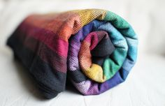 Gothic Rainbow - Girasol Exclusive Wrap.  Ohhhhh must find this colorway