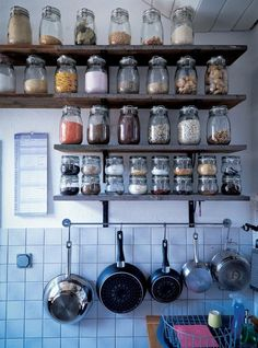 This is how I want my pantry to look like.