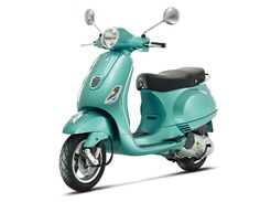 "Latest version of Vespa's best-selling model, the LX 150 comes in new colours, including ""Verde Portovenere""."