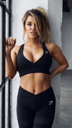 35 Best Sport Outfit Fitness Women's Gym & Workout Clothes Fitness Outfits, Womens Workout Outfits, Fitness Fashion, Sport Outfits, Women's Fashion, Fashion Trends, Fashion Outfits, Fitness Inspiration, Body Inspiration