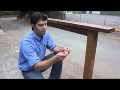 ▶ How to DIY - cable railing with wood posts - YouTube