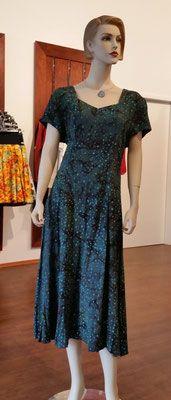 Batikkleid von Campur. Leichtes luftiges Sommerkleid, Krinkelstoff im Batik Look.