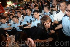 近万港人守护旺角 参与妈妈给宝宝信诉说心声 | 雨伞运动 | 清场 | 大纪元