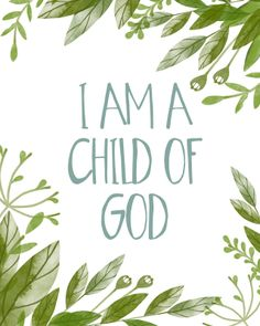 I am a Child of God (benefit for Evie)