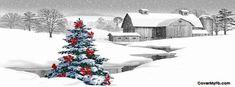Christmas Farm Facebook Covers, Christmas Farm FB Covers, Christmas Farm Facebook Timeline Covers, Christmas Farm Facebook Cover Images