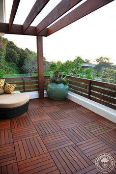 pattern would allow for removable panels for access to deck surface ...