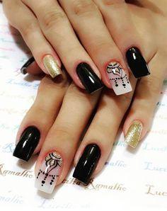 Colorful Nail Designs, Cute Nail Designs, Dream Nails, Love Nails, Fancy Nails, Trendy Nails, Summer Nails, Beauty Women, Nail Colors