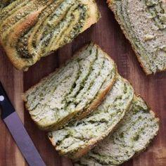 Braided Pesto Bread....OMG with bruschetta? Nom nom nom! MRT
