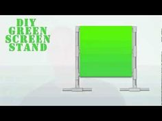 How To Create A DIY Green Screen Setup On The Cheap: Screens, Stands And Lighting Setup