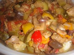 RATATOUILLE * Eggplant, Zucchini, Tomatoes, Kalamata Olives, Garlic, Herbs and much more ** Serve HOT, COLD or ROOM TEMPERATURE **