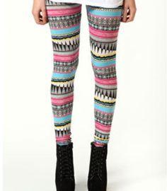 6a0f2cb79f8 Pattern leggings Aztec Print Pants