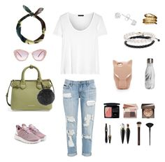 Roar by aleremigio on Polyvore featuring polyvore, fashion, style, The Row, adidas Originals, Burberry, BillyTheTree, Blue Nile, Temple St. Clair, STELLA McCARTNEY, Miu Miu, Fendi, Bobbi Brown Cosmetics, Christian Dior, Laura Mercier, Lancôme, Christian Louboutin, Hourglass Cosmetics, Japonesque, S'well, New Look and clothing