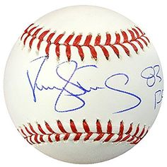 """Darryl Strawberry Autographed Official Mlb Baseball New York Mets """"83 Nl Roy"""" Psa/dna Stock #86898"""