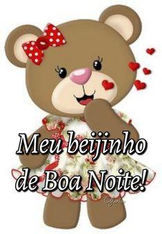 Beijinhos de Boa Noite! ❥❥❥ Laku Noc, I Thought Of You Today, Image Jesus, Smiley Emoji, Tatty Teddy, Happy Day, Hello Kitty, Instagram Posts, Gifs