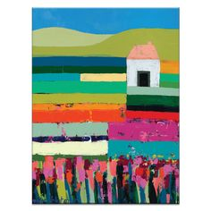 Melbourne born professional Artist since Anna Blatman's unique style and love of colour and flowers are hung on walls around the world. Contemporary Art Prints, Modern Art, Christian Anderson, Art Prints Online, Mini Canvas Art, Landscape Art, Painting Inspiration, Oeuvre D'art, Wall Art Prints