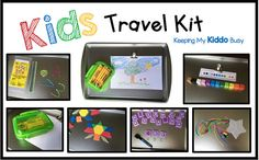 A complete travel activity kit to keep your child busy, engaged and learning while you are in the car, on a plane or just when you need a few free minutes!  Included is everything you see in the photos: ★Magnetic Tray - perfect size for a childs lap (approximately 13 x 9) ★20 foam, magnetic pattern blocks ★8 animal pattern (printed front to back on high quality card stock on four cards) - laminated for durability ★Magnetic clip - holds pattern cards for activities or paper for coloring…