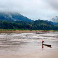 My top 10 travel experiences of 2015! Mekong River, Laos. www.kelaguk.tumblr.com