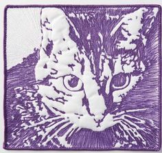 Ink & Thread Sketched Pet Quilts