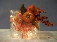 glass block crafts - Google Search                                                                                                                                                                                 More