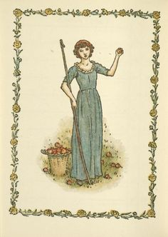 October - Kate Greenaway's Almanack for 1897