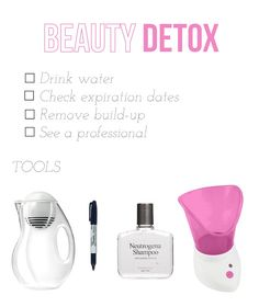 how to detox your beauty routine