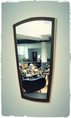 Grand Miroir Moderniste Rétroviseur