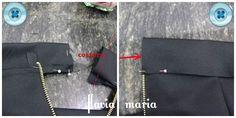 FLAVIA MARIA : ♥molde + costura da ♥ saia tulipa ♥