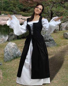 Medieval Peasant Dress Pattern 3906 peasant m medieval