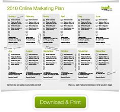 Your 2010 online marketing plan