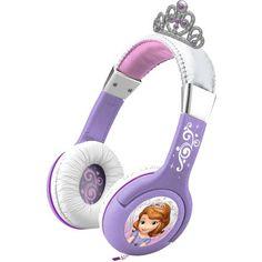 Disney Sofia the First Princess Headphones - Walmart.com