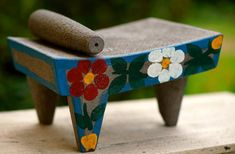 metate with a modern touch…
