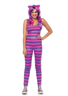 New Leg Avenue 85579 Darling Cheshire Female ADULT Costume  #LegAvenue